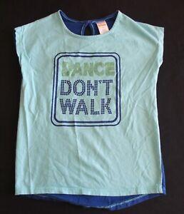 Gymboree 6 Girls Shirt Dance Don't Walk PLAY