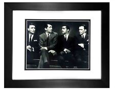 Rat Pack -  001  8X10  PHOTO FRAMED TO11X14