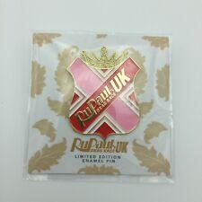 More details for official rupaul's drag race uk rupeter ru peter season 2 enamel badge pink new