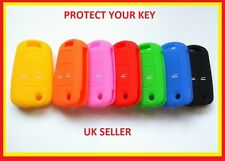 SILICONE FLIP KEY CASE 2 BUTTON FOB COVER FOR VAUXHALL OPEL ASTRA VECTRA CORSA 1