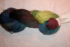 CHERRY TREE HILL -50% Baby Alpaca - 50% Merino Wool DK. 220 yds. BAMBOO FOREST