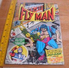Fly Man #34 in F/G- FREE bag/board