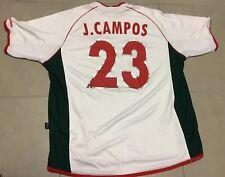 ce42c971856 Vtg Men s Mexico Soccer Jersey J. CAMPOS 2002 World cup Sz 2XL Atletica  futbol