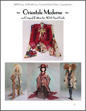 """""""Orientale Moderne"""" -  24""""(60 cm) BJD Ball Jointed Doll Fashion Clothing Pattern"""