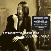 SUZANNE VEGA retrospective - the best of suzanne vega (2x CD, Album) Folk Rock,