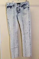 """Just Cavalli Acid Washed Jeans 33"""" waist"""
