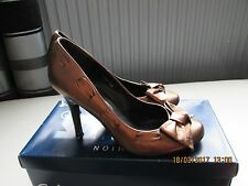 OFFICE BRONZE ANTIQUE GOLD LEATHER SHOES SIZE 6 UK