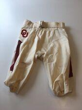 Game Worn Used Oklahoma Sooners OU Nike Football Pants Size 32