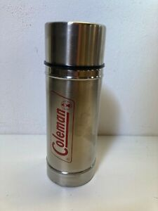 Vintage Coleman Stainless Steel Thermos Style Flask