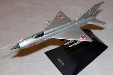 1:120 Mikoyan MiG-21 Soviet Airplane Die cast model 4 DeAgostini