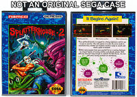 Splatterhouse 2 - Sega Genesis Custom Case *NO GAME*