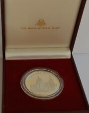 BIRMINGHAM MINT CHARLES & DIANA STERLING SILVER ROYAL WEDDING COMMEMORATIVE COIN