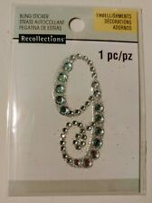 Recollections Bling Stickers - Letter G
