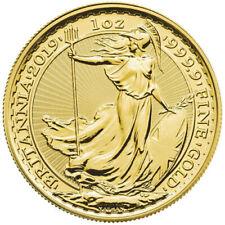 2019 1 oz British Gold Britannia Coin (BU)
