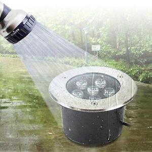 LED Underground Light Inground Lamp Outdoor Garden Path Landscape IP68 DC 12V