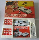 VINTAGE METTOY COMPUTACAR PROGRAMMABLE WHITE FORD GT40 BOXED INC CONES
