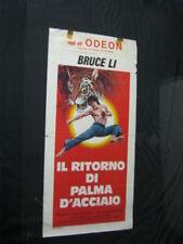 Original Italian FIST OF FURY 2 BRruce LI SHAW BROTHERS