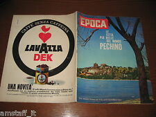RIVISTA EPOCA 1962/591=ALDO MORO=ILDEBRANDO PIZZETTI=LAWRENCE THOMAS D'ARABIA=