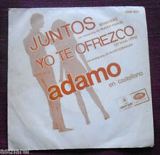 ADAMO Ensemble/Je vous offre ARGENTINA ONLY '67 ODEON POPS SUNG IN SPANISH RARE!