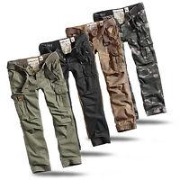 SURPLUS PREMIUM SLIMMY Vintage Trousers Chino Cargo Hose US Airborne Rock Biker