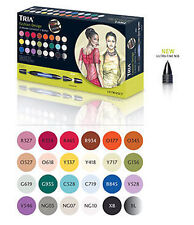 Letraset Tria Marker - 24 Pen Set - Fashion Design