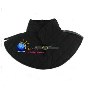 Medieval COLLAR Thick Padded Gambeson Costume SCA LARP