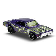 Hot Wheels 2017 - 1969 Purple Ford Torino Talladega #4 HW Flames Short Card 1 64