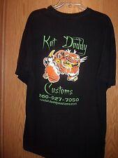 Kat Daddy Customs black graphic XL t shirt