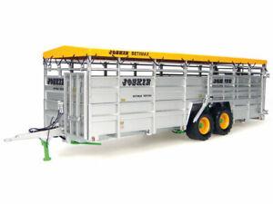 1:32 scale Joskin Betimax RDS 7500 Cattle Trailer Die-cast Model - J2580