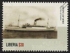 La première guerre mondiale ss/hms city of london royal navy armed merchant croiseur navire de guerre timbre