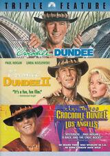 Crocodile Dundee / Crocodile Dundee II / Croco New DVD