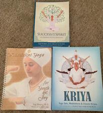 Success and the Spirit - An Aquarian Path to Abundance - Yogi Bhajan Plus 2 Book