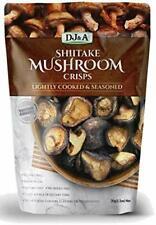 D J & A Shiitake Mushroom Crisps Lightly Cooked & Seasoned 150g