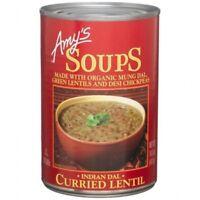 Amys Kitchen 61549 Organic Curried Lentil Soup