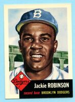 1953 Topps Archives #1 Jackie Robinson - Brooklyn Dodgers