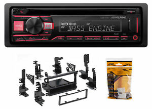 ALPINE CD Receiver Stereo Android/MP3/WMA/USB/AUX For 1998-04 Nissan Frontier