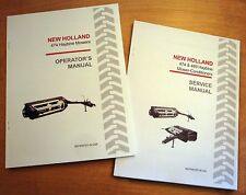 New Holland 474 Haybine Mower Conditioner Operators And Servicerepair Manual