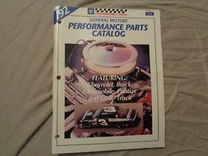 1992 GM Performance Parts Catalog Buick Chevrolet GMC Oldsmobile Pontiac