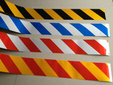 """Stripe Reflective Warning Self Adhesive Tape Sticker for Way 10cm 4"""" Width"""