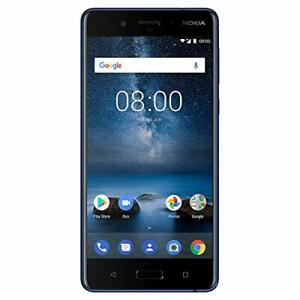 Nokia 8 - Android One Upgrade to Pie - 64 GB - Unlocked Smartphone AT&T/T-Mob...