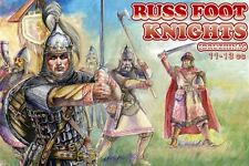 ORION 1/72 Russian Foot Knights XI-XIII Century Plastic Figures Set NEW 72031