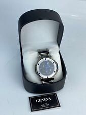 Geneva 612-MTT Men's Black Tungsten Chronograph Quartz Watch ON612-M