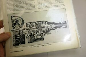 1950 Ford Field Magazine clippings advertisement AD Automatic Transmission