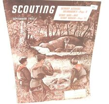 Nice  Sept 1955  Boy Scout  Scouting Magazine / Book