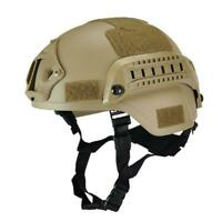 Outdoor Tactical Helmet Army Airsoft Military Tactical Riding Hunting Comba P7B1