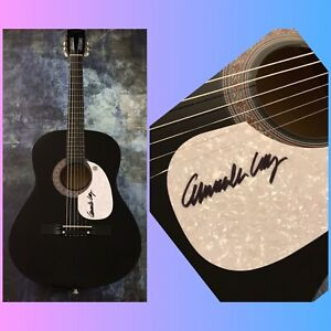 GFA And His Lost Planet Airmen COMMANDER CODY Signed Acoustic Guitar COA