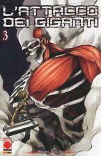 L'Attacco dei Giganti N° 3 - Ristampa - Planet Manga - ITALIANO NUOVO #MYCOMICS