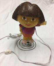 "Disney Dora The Explorer 11"" Plastic Night Light Light Up Lamp Decor WORKS |"