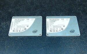 Lot of 2 Intel SSD 520 60GB Hard Drives SSDSC2CW060A3     (3b16)