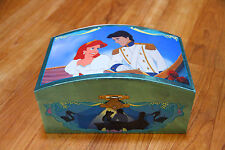 Vintage Disney The Little Mermaid Music Box Sold As Is For Repair No Figures